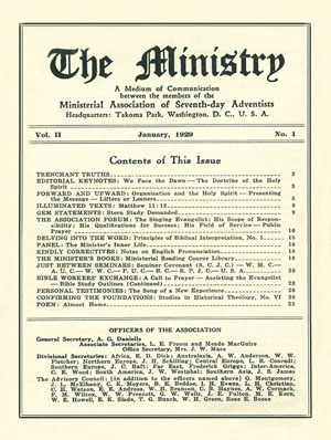 January 1929 cover image