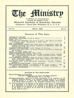 March 1929 cover image