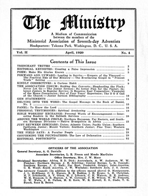 April 1929 cover image