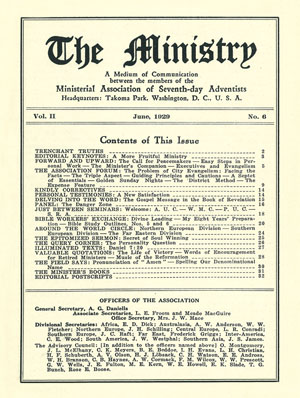June 1929 cover image