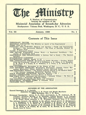 January 1930 cover image