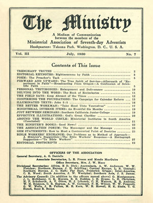 July 1930 cover image