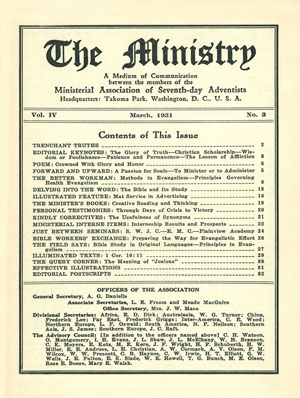 March 1931 cover image