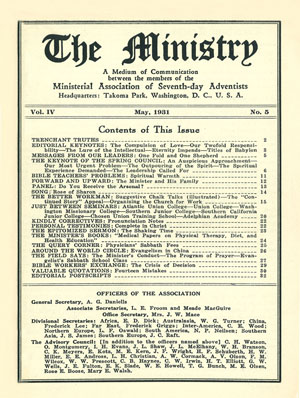 May 1931 cover image
