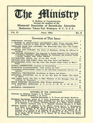 June 1931 cover image