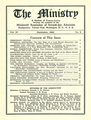 September 1931 cover image