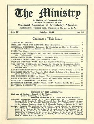 October 1931 cover image