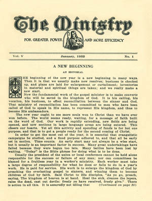 January 1932 cover image