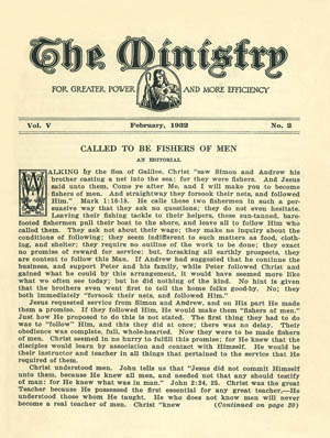 February 1932 cover image