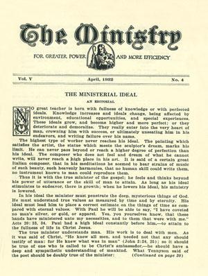 April 1932 cover image