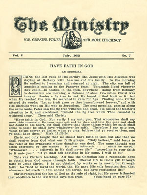 July 1932 cover image