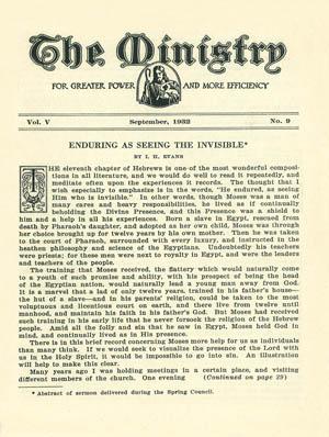 September 1932 cover image