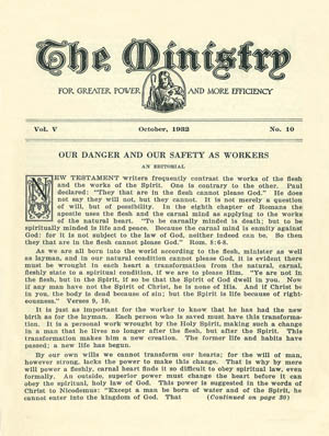 October 1932 cover image