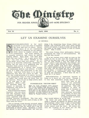 April 1933 cover image