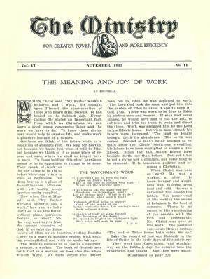 November 1933 cover image