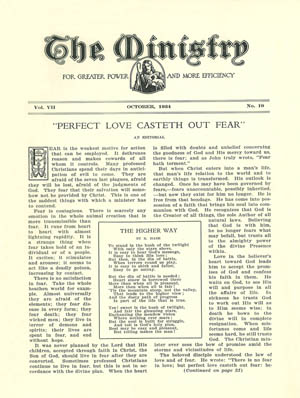 October 1934 cover image
