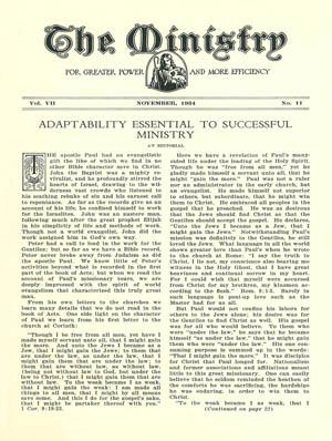 November 1934 cover image