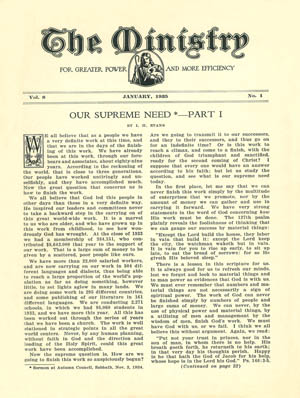 January 1935 cover image