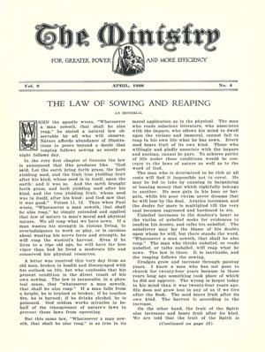 April 1936 cover image