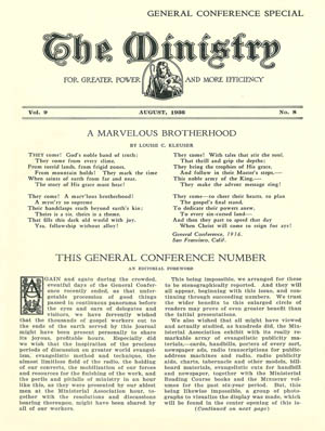 August 1936 cover image