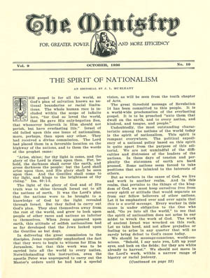 October 1936 cover image
