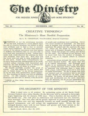 December 1937 cover image