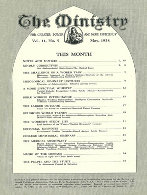 May 1938 cover image