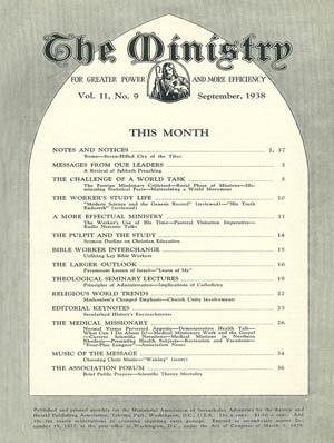 September 1938 cover image