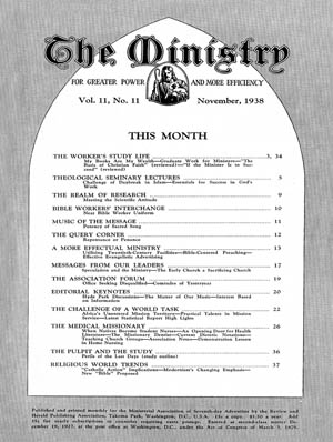November 1938 cover image