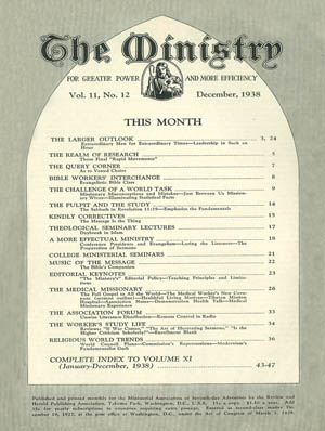 December 1938 cover image