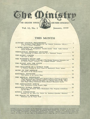 January 1939 cover image