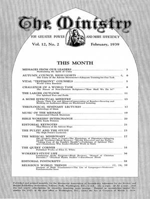 February 1939 cover image