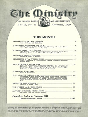 December 1939 cover image