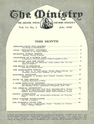 July 1940 cover image