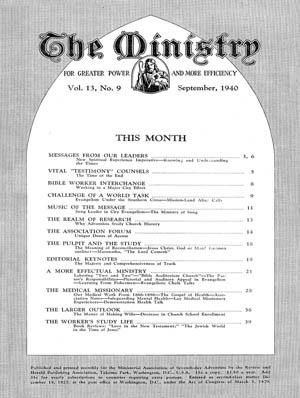 September 1940 cover image