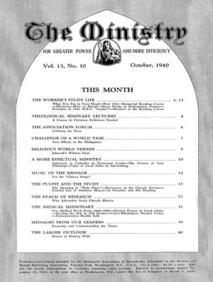 October 1940 cover image