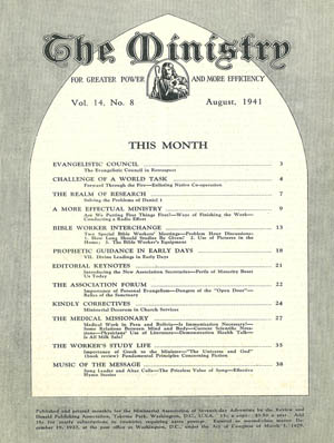 August 1941 cover image
