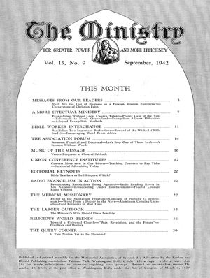 September 1942 cover image