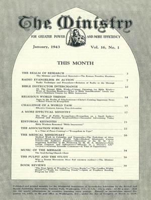 January 1943 cover image