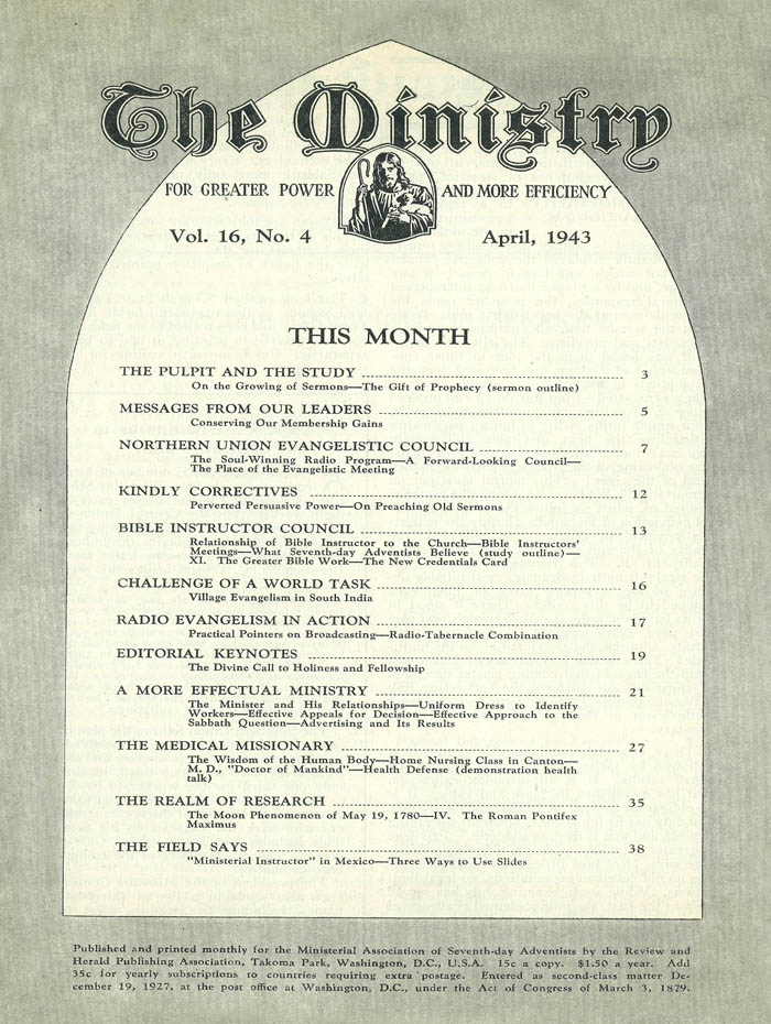 April 1943 cover image