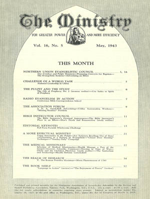 May 1943 cover image