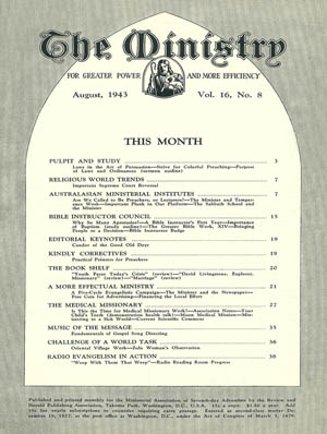 August 1943 cover image