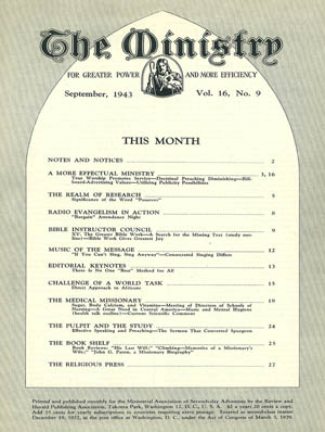 September 1943 cover image