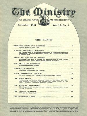 September 1944 cover image