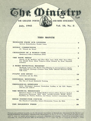 July 1945 cover image