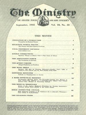 September 1945 cover image