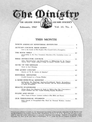 February 1947 cover image