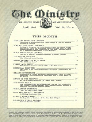 April 1947 cover image