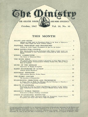 October 1947 cover image
