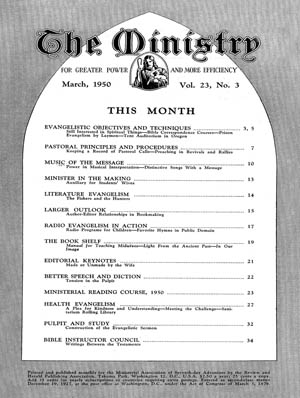 March 1950 cover image